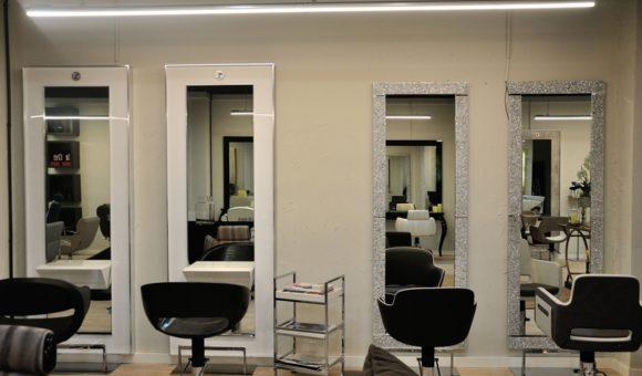 proyectos interiorismo peluquerías madrid